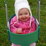 Eastern Jungle Gym High Back Full Bucket Outdoor baby swing