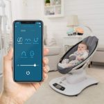 Bluetooth Baby Swing